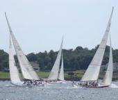 12 Meter Boats racing, Newport, RI